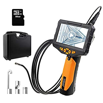 Image of 4.3inch HD LCD Screen Borescope Wall Camera 1080P FHD Inspection Camera Borescopes