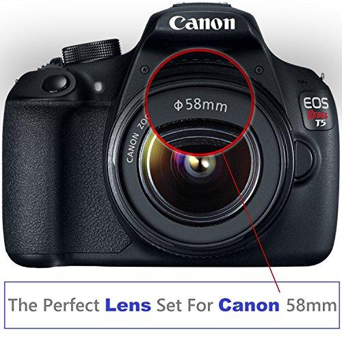 Professional 58MM Lens Filter