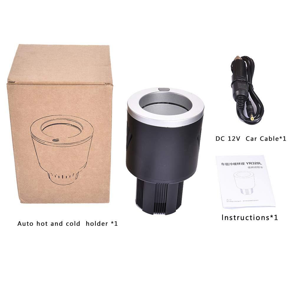 Copa del autom/óvil refrigeraci/ón y calefacci/ón Copa 2-85 /° C Refrigerador del autom/óvil peque/ño Copa del autom/óvil Fr/ío caliente del vaso 12V Refrigerador//Enfriador para autom/óvil Enchufe