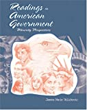 Readings in American Government : Minority Perspectives, Velickovic, Dusan and Velikovic, 0757510310