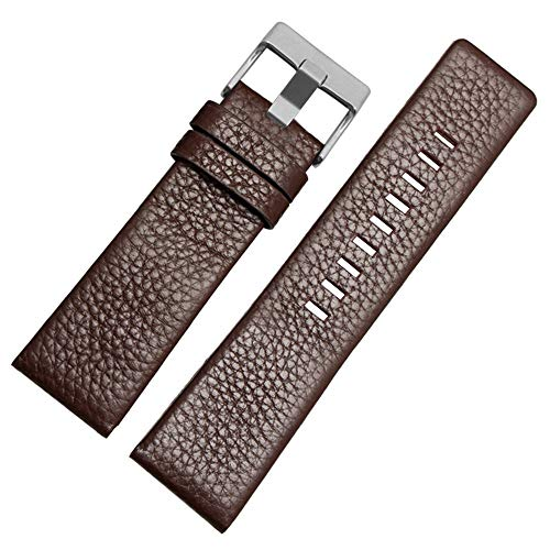 Calfskin Leather Watch Band Suitable for Men's Diesel Watches