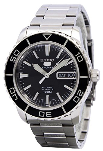 Seiko SNZH55 Automatic Black Stainless product image