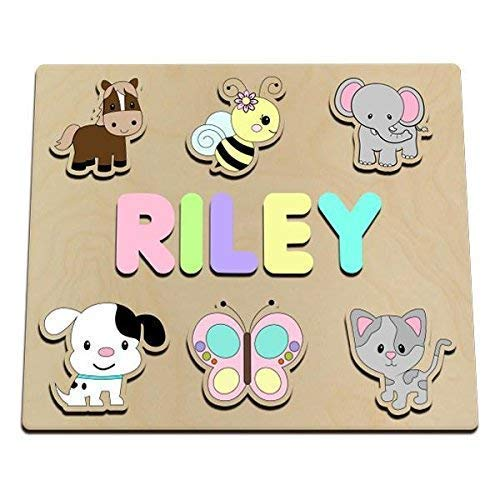 Favorite Best Friends Personalized Wooden Name Puzzle Customized For You
