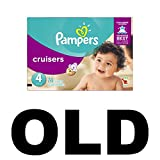 Pampers Cruisers Disposable Diapers Size 4, 74 Count, SUPER