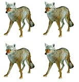 Flambeau Outdoors 5985MS-1 Masters Series Lone Howler Coyote Decoy (Pack of 4)