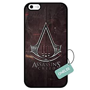 Onelee(TM) - Assassin's Creed Logo iPhone 6 Case & Cover - iPhone 6 Case - Black 13