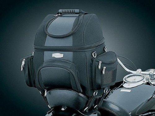 Leather Motorcycle Luggage Rack Bag - 1