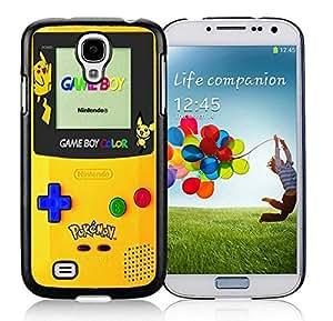 Galaxy S4 Case,Pokemon 2 Black For Samsung Galaxy S4 i9500 Case WANGJING JINDA