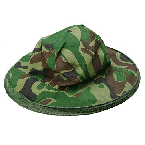 Men's Sun Hats Nice Keeping Insects Bee Flying Face Protector Beekeeper Hat Mesh Camouflage Field Face Mask Cap Beekeeping Face Fishing Equipment