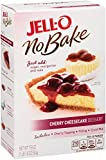 Jell-O No Bake Cheesecake Dessert, Cherry, 17.8 Ounce