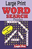 Large Print WORD SEARCH Puzzles, Logic Pro, 1502801450