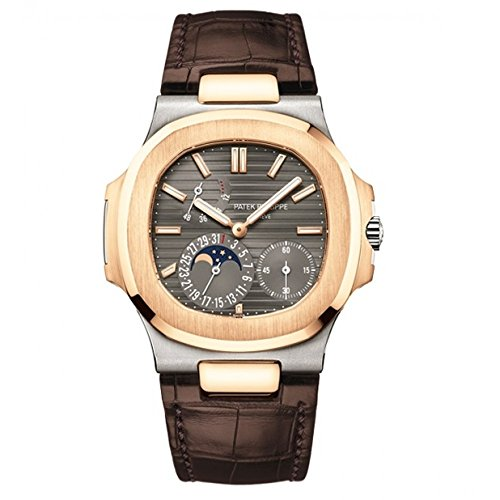 lus 40mm White and Rose Gold Watch 5712GR-001 (Patek Philippe Rose Gold)