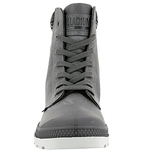 Palladium Damen Pampa Brei Lp F Hohe Sportschoen French Metaal / Manestraal