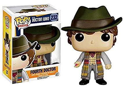 Funko Figurine Doctor Who 4th Doctor Barnes And Noble Exclusive