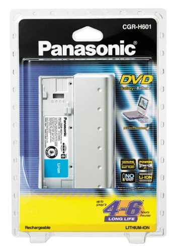 PANASONIC CGR H601A 1B Rechargeable Portable