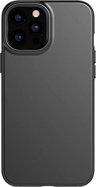 Tech21 Evo Slim Schutzhülle Für Apple Iphone 12 Pro Max 5g Keimbekämpfend Antimikrobiell Mit 2 4 M Fallschutz Anthrazit Schwarz Elektronik