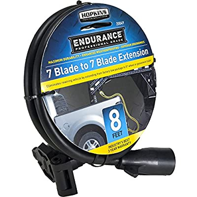 Endurance Hopkins 20049 7-to-7 Blade 8' Molded Cable 5th Wheel Extension: Automotive