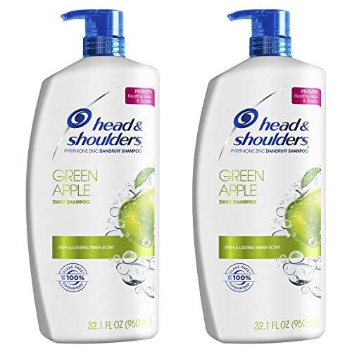 Head and Shoulders, Shampoo, Anti Dandruff, Green Apple, 32.1 fl oz, Twin Pack