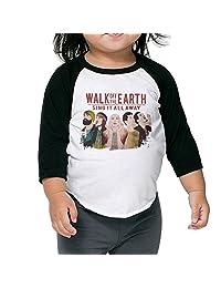 Rock Band Walk Off The Earth Kids 3/4 Raglan Baseball T Shirts