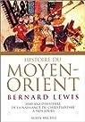 Histoire du Moyen-Orient par Lewis