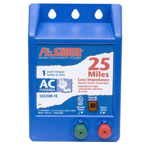 Fi-Shock EAC25M-FS AC Low Impedance Energizer, 25-Mile