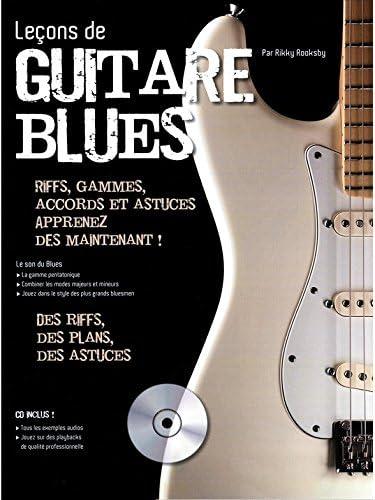 Lecciones de guitarra: La guitarra Blues + CD – Particiones, CD ...