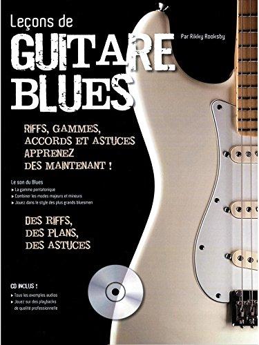 Lecciones de guitarra: La guitarra Blues + CD - Particiones, CD ...