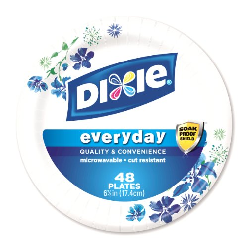 Amazon.com Dixie Heavy Duty Paper Plates 48 Count 6.875 Inch Health u0026 Personal Care  sc 1 st  Amazon.com & Amazon.com: Dixie Heavy Duty Paper Plates 48 Count 6.875 Inch ...