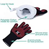 BBQ Grilling Cooking Gloves Oven Mitts - Extreme