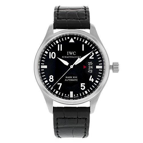 iwc-mens-iw326501-pilots-mark-xvii-black-alligator-watch