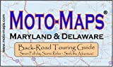 Moto-Maps Maryland and Delaware, Keith Myers, 0976484889