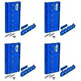 Kreg KMA3200 Hardened Steel Shelf Pin Hole Drilling Jig, 4-Pack