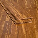 Ambient Bamboo - Bamboo Flooring Sample, Color: Tiger, Solid Strand...