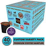 Coffee Pods Variety Pack Sampler, Assorted Single