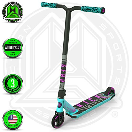 Madd Gear Kick Extreme Scooter (Teal/Pink 2019) (Best Trick Scooter Brands)