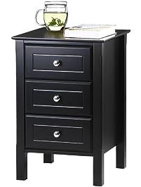 bedroom nightstands. Nightstands  Amazon com