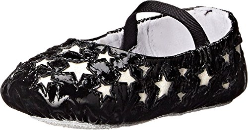 Bloch Kids Baby Girl's Etoile (Infant/Toddler) Black Flat 4 Toddler M (Bloch Infant Shoes)