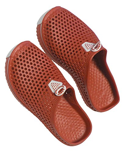 Womens Red Style amp; Home Slip Sneaker DINY Clogs On Ladies Sandals wBxqIEEa