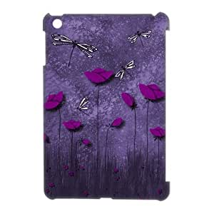 Beautiful Dragonfly Personalized 3D Cover Case for Ipad Mini,customized phone case ygtg-310608
