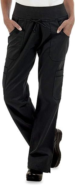 Womens Petite Stretch Yoga Chef Pant (XS-3X)