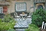Miniature Fairy Garden Mini Bistro Set, White, Baby & Kids Zone