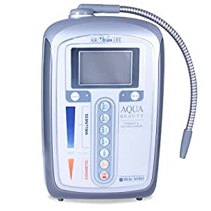 Air Water Life Aqua Ionizer Deluxe 5.0 | Best Home Alkaline Water Filtration System | Produces pH 5.0-11.0 Alkaline Water | Up to -600mV ORP | 4000 Liters Per Filter | 7 Water Settings