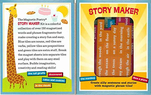 Magnetic Poetry - Kids Story Maker Kit - Ages 5 and Up - ...