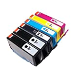 YATUNINK(TM) 6 Pack New Ink 564 564XL OfficeJet 4620, 4622 with CHIP