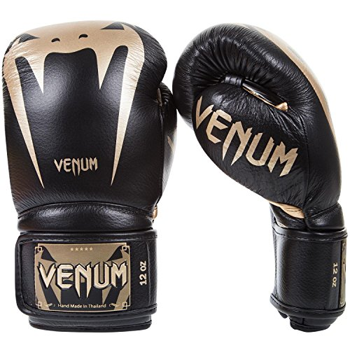 Venum Giant 3.0 Boxing Gloves 12 oz, Black/Gold ()