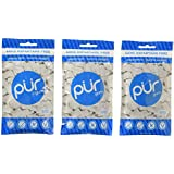 PUR Gum, Peppermint, 165 pieces - Aspartame Free, Sugar Free, 100% Xylitol, Natural Chewing Gum, Non GMO, Vegan