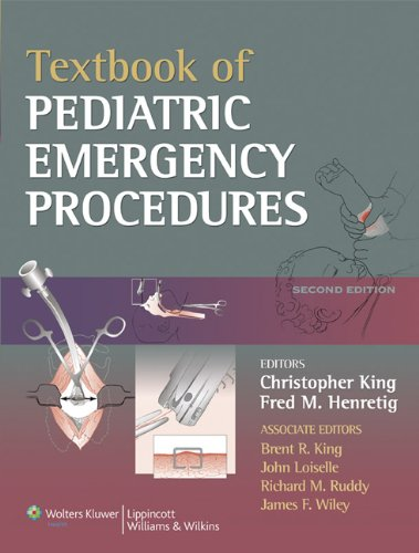 Textbook of Pediatric Emergency Procedures