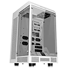 Thermaltake Tower 900 Snow Edition Tempered Glass Fully Modular E-ATX Vertical Super Tower Computer Chassis CA-1H1-00F6WN-00