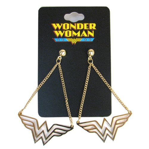 DC Comics Wonder Woman Dangle - Earrings Woman Wonder