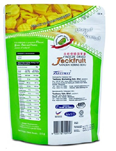 MUST BUY ! 20 Pack DXN Alor Freeze Dried JACKFRUIT Preserved With Original Characteristics ( 50 Per Pack ) by DXN